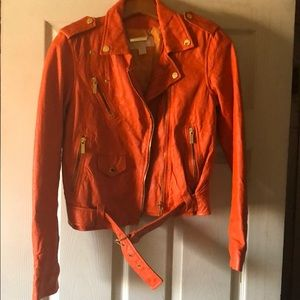 Michael Michael Kors Authentic leather jacket